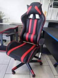 Cadeira gamer reclinável nova