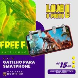 Gatilho Gamer para Smartphone