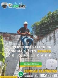 Título do anúncio: Sua Casa Protegida por cercar eléctrica em aluminio