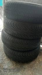 Vende se 4 pneu 3 de uma marca so e um marca diferente