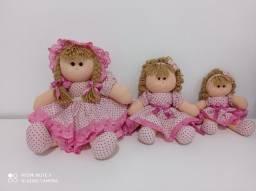 Trio bonecas