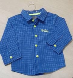 Camisa social Tigor Baby