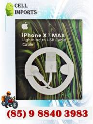 Cabo Iphone X Max, Produto Novo