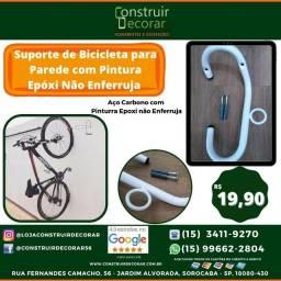 Título do anúncio: Suporte de Bicicleta para Parede com Pintura Epóxi não enferruja