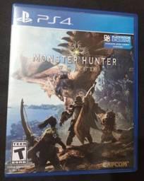 Jogo monster hunter world