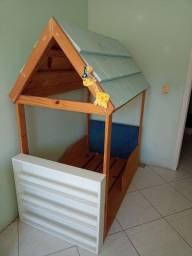 Cama casinha para criança