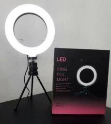 Ring Light 6 Polegadas 16cm Tripé