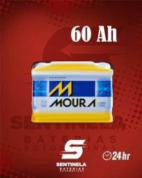 Bateria Moura 60 Amperes em até 12x sem juros