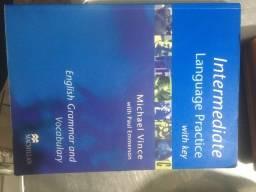 Título do anúncio: livro de inglês Intermediate