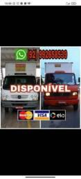 Fretes mudança transporte de carga interior manaus caminhão baú