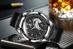 Wg relógio importado à prova dwaterproof água