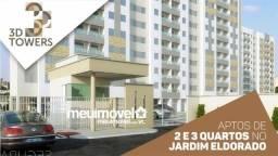 136 Venha morar no 3D Towers. Aptos de 2 e 3 quartos prontos para morar!