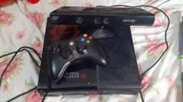Xbox 360 + kinect + 7 jogos