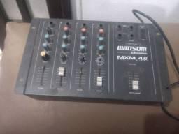 Mesa de som amplificadora Wattson