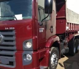 Título do anúncio: Volks 24250 truck caçamba completo ano 2012