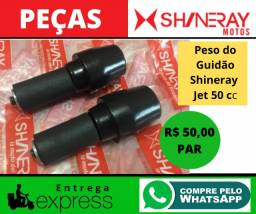 Peso Do Guidão (par) Shineray Xy Jet 50 Cc Original