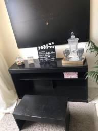 Vendo conjunto rack/mesa de centro/ painel de parede