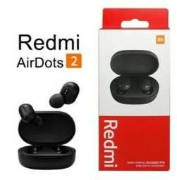 Fone de ouvido sem fio - Bluetooth - Redmi Airdots 2 - Original  - lacrado