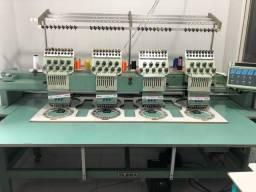 Máquina de Bordado Industrial Tajima cilíndrica