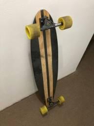 Skate longboard Free style dancing urgh bamboo
