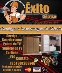 Montador de móveis (guarda roupa)