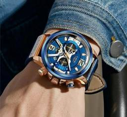 Relógio  lige Premium luxo