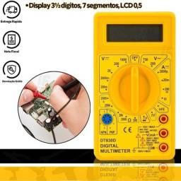 Multimetro Digital Portatil Profissional de uso profissional e domestico