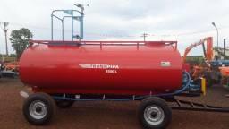 Carreta tanque 6.500 litros com Kit Bombeiros completo sem pneus