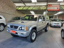 Mitsubishi/L200 Gls 2.5 4x4 Turbo Diesel Intercooler+Toda Revisada+Banco em Couro