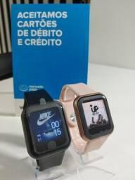 Relógio Inteligente Smartwatch D20 Y68 PRO Troca a foto da tela