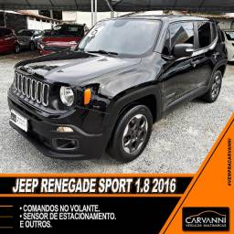 Jeep Renegade Sport 1.8 2016 - Completo