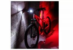 Título do anúncio: Kit Sinalizador Para Bicicleta Bike Branco/vermelho