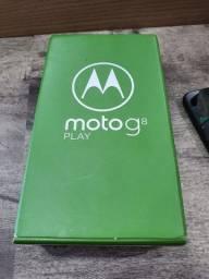 Motorola G8 Play 32g caixa  nota fiscal