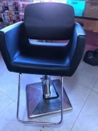 Cadeira de salão de cabelereiro