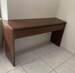 Aparador em madeira 2 gavetas - Imbuia/Carvalho