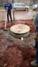Cisterna - Perfuração com Máquina