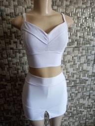 Título do anúncio: Croped + Short saia R$70