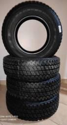 Título do anúncio: 4 pneus recapados R265/65 17
