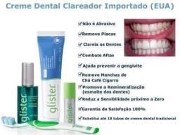 Cremes dentais Glister (linha Glister )
