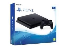 Título do anúncio: PS4 slim 1Tb promoção aceito cartão loja física