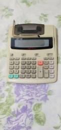 Calculadora Eletrônica com bobina.