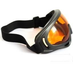 Óculos Proteção Lente Ambar Laranja X400