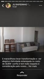 Sofá Cinza da Decorart (2,40 de largura)