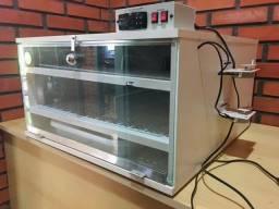 Chocadeira elétrica Golden 240 ovos - Automática com ovoscópio