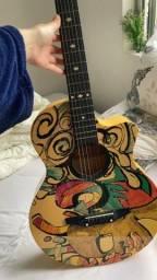 Título do anúncio: Violão Core Guitars + Capa