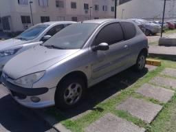 Peugeot Quiksilver 206, 16v, 1.0, ano 2003 (ESTRAGADO -  NÃO LIGA)