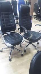 Título do anúncio: Cadeira top no cromado