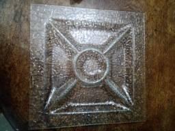 Petisqueira de vidro média NOVA - R$70