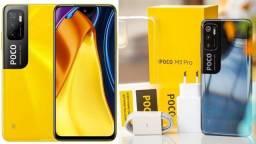 Título do anúncio: Poco M3 pro 5G 64GB/4GB Preto/Amarelo China