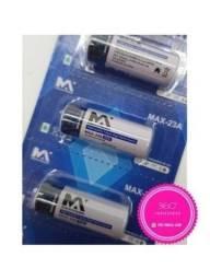Cartela de Pilha Bateria 12V-23A 5 unidades - MaxMídia